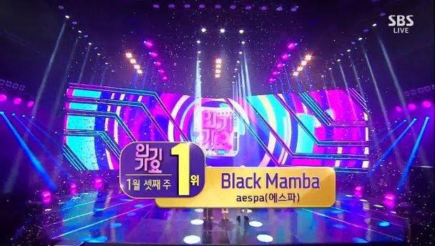 aespa giành cúp đầu tiên trên show âm nhạc, lập kỷ lục sau 14 năm nhưng làm Knet thắc mắc vì 1 hạng mục có điểm cao bất thường - Ảnh 1.