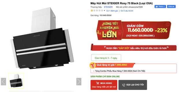8 máy hút mùi đang sale từ 1,9 triệu đồng cho phòng bếp sạch sẽ thơm tho - Ảnh 13.