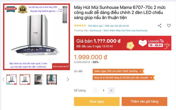 8 máy hút mùi đang sale từ 1,9 triệu đồng cho phòng bếp sạch sẽ thơm tho - Ảnh 1.
