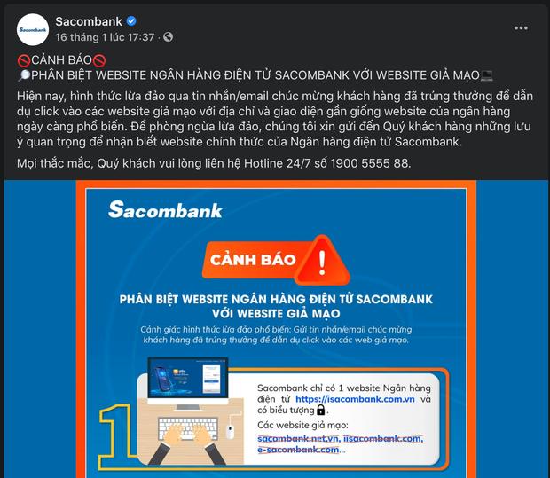 Cảnh báo: Sau các trang web bán vé máy bay, đến lượt website ngân hàng giả xuất hiện tràn lan, thủ đoạn lừa đảo cực kỳ tinh vi - Ảnh 4.