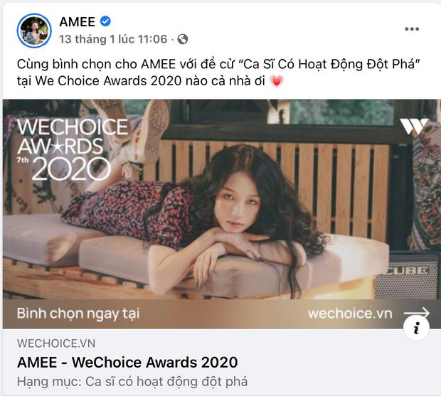 Vbiz rần rần vì WeChoice Awards 2020: Sao Việt đăng đầy newsfeed, fanpage NS Chí Tài chia sẻ đầy xúc động, Binz - Hoà Minzy gấp rút kêu gọi - Ảnh 9.