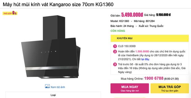8 máy hút mùi đang sale từ 1,9 triệu đồng cho phòng bếp sạch sẽ thơm tho - Ảnh 9.