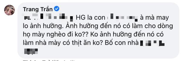 Trang Trần hưởng ứng màn đấu tố của quản lý cũ Hương Giang, gây sốc khi dùng từ ngữ thô tục để nhắc đến nàng Hậu - Ảnh 5.