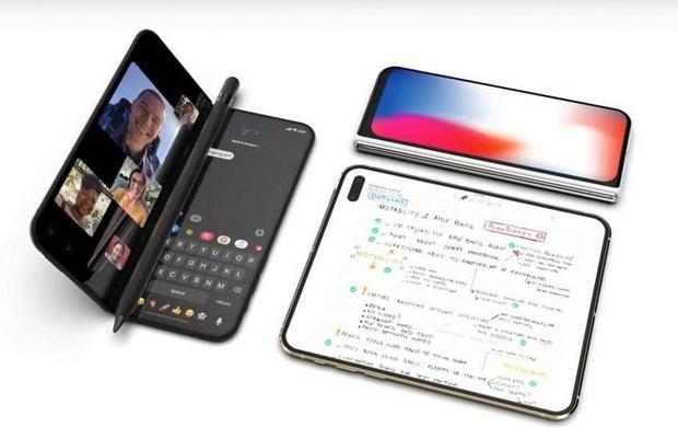 Apple sẽ ra mắt iPhone màn hình gập trong năm nay? - Ảnh 1.