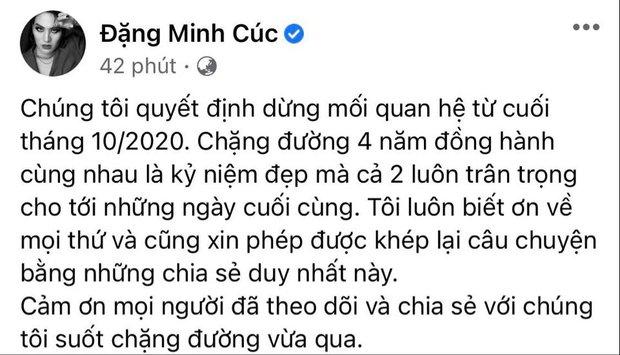 Minh Cúc (Về Nhà Đi Con) chia tay bạn trai Ngọc Thanh sau 4 năm gắn bó - Ảnh 2.