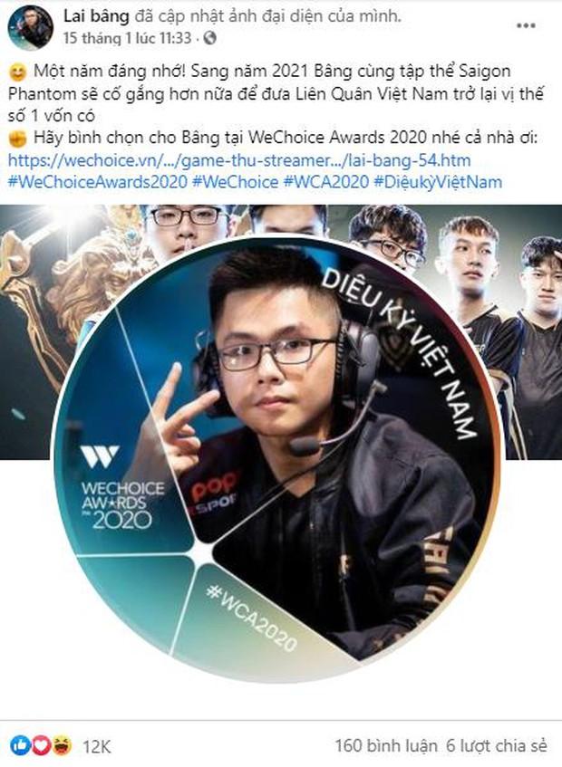 Game thủ/ Streamer Việt đang sốt xình xịch với cuộc chiến kêu gọi bình chọn tại WeChoice Awards 2020, fan hưởng ứng cực nhiệt! - Ảnh 1.