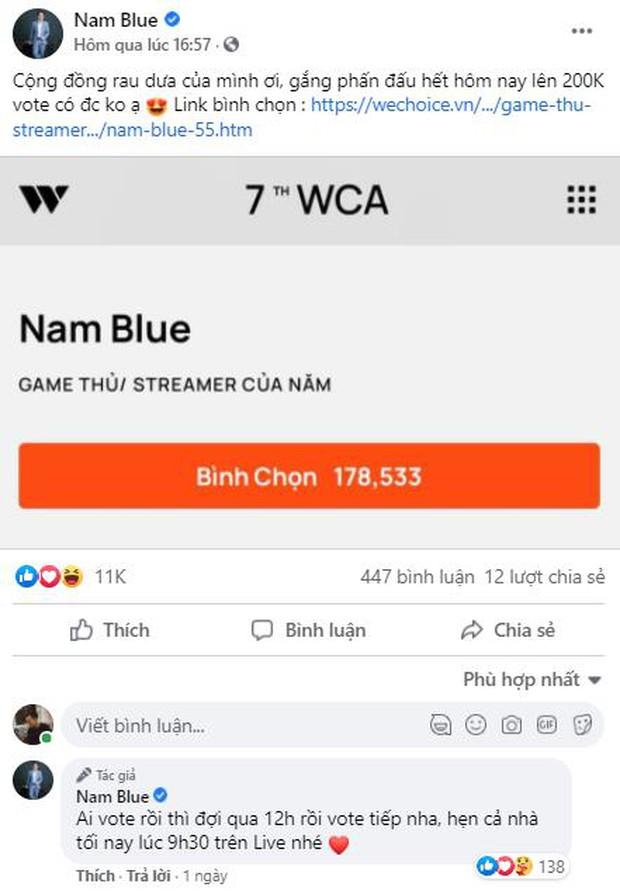 Game thủ/ Streamer Việt đang sốt xình xịch với cuộc chiến kêu gọi bình chọn tại WeChoice Awards 2020, fan hưởng ứng cực nhiệt! - Ảnh 2.