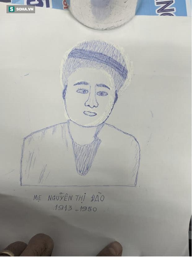 Cụ ông 80 tuổi tìm đến hoạ sĩ cùng mảnh giấy vẽ mẹ: Lời đề nghị gây bối rối và những giọt nước mắt xúc động - Ảnh 3.