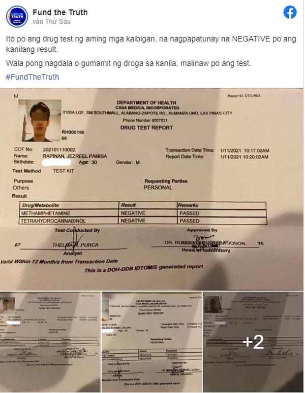 Công bố kết quả xét nghiệm ma túy của 5 nghi phạm liên quan đến cái chết của Á hậu Philippines - Ảnh 1.