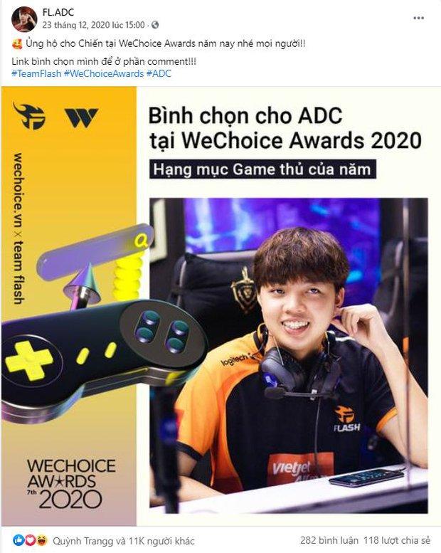 Game thủ/ Streamer Việt đang sốt xình xịch với cuộc chiến kêu gọi bình chọn tại WeChoice Awards 2020, fan hưởng ứng cực nhiệt! - Ảnh 3.