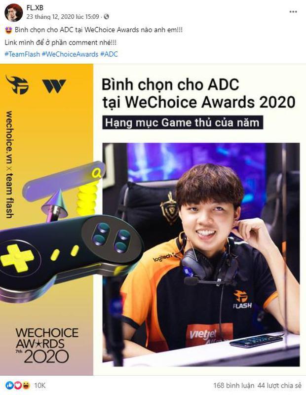 Game thủ/ Streamer Việt đang sốt xình xịch với cuộc chiến kêu gọi bình chọn tại WeChoice Awards 2020, fan hưởng ứng cực nhiệt! - Ảnh 6.
