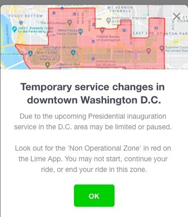Trước ngày Tổng thống Mỹ nhậm chức: Apple Store, Airbnb tạm ngừng hoạt động - Ảnh 1.