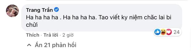 Trang Trần hưởng ứng màn đấu tố của quản lý cũ Hương Giang, gây sốc khi dùng từ ngữ thô tục để nhắc đến nàng Hậu - Ảnh 4.