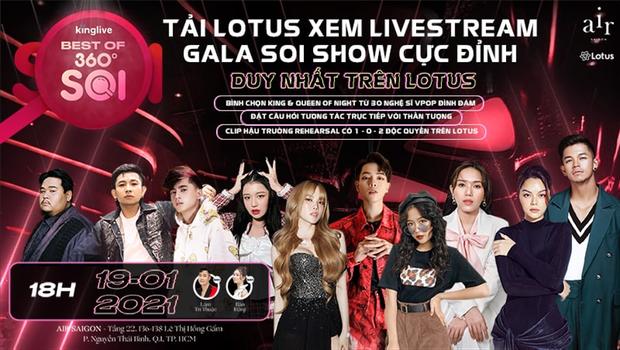 Gala Best Of 360 Độ Soi quy tụ hơn 30 nghệ sĩ Vpop đình đám, ai sẽ là King & Queen của đêm hội Soi? - Ảnh 1.