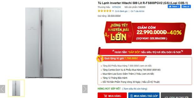 7 tủ lạnh sang-xịn-mịn đang sale đến 40%, giá từ 23 triệu sắm về sang cả căn nhà - Ảnh 1.