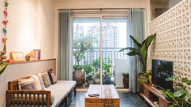 Decor theo style Indochine, căn nhà của nữ kiến trúc sư đẹp hết nấc, hoá ra chi phí đến nửa tỷ đồng - Ảnh 1.