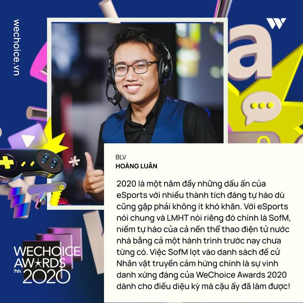 Hoàng Luân, Mạnh An - Biểu tượng VCS, cặp bình luận viên gạo cội của làng eSports Việt sẽ xuất hiện tại WeChoice Awards 2020 - Ảnh 1.