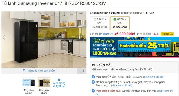 7 tủ lạnh sang-xịn-mịn đang sale đến 40%, giá từ 23 triệu sắm về sang cả căn nhà - Ảnh 3.