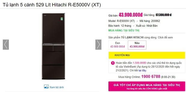 7 tủ lạnh sang-xịn-mịn đang sale đến 40%, giá từ 23 triệu sắm về sang cả căn nhà - Ảnh 13.