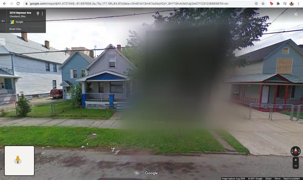Những câu chuyện kinh hoàng phía sau 4 ngôi nhà bị Google Maps che mờ - Ảnh 1.