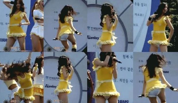 Loạt outfit gây tranh cãi bậc nhất Kpop: SNSD bị nghi đạo nhái, PSY diện jumpsuit sexy nhưng chưa sốc bằng boygroup mặc mỗi nội y lên stage - Ảnh 1.