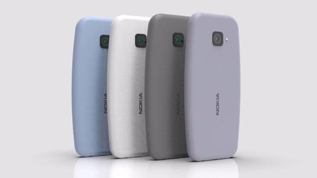 Sẽ ra sao nếu huyền thoại Nokia 3310 được ra mắt ở năm 2021: Màn hình tràn viền, camera thò thụt, tích hợp máy quét vân tay...? - Ảnh 1.