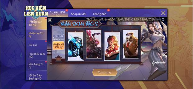 HOT: Game thủ Liên Quân nhận về 4 skin bậc S cực xịn hoàn toàn miễn phí nhờ tính năng tri kỷ mới cập nhật - Ảnh 2.
