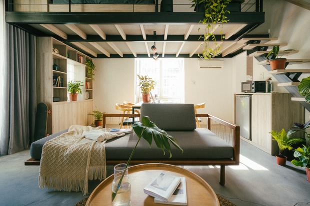 Chàng kiến trúc sư cải tạo căn hộ Pháp cổ, không gian tối giản nhưng sáng thoáng ngỡ ngàng - Ảnh 5.