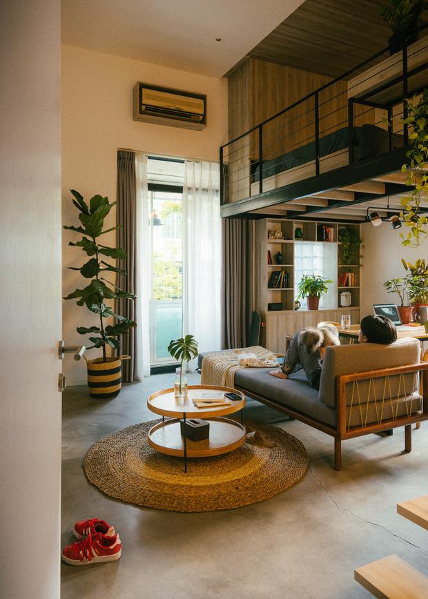 Chàng kiến trúc sư cải tạo căn hộ Pháp cổ, không gian tối giản nhưng sáng thoáng ngỡ ngàng - Ảnh 11.