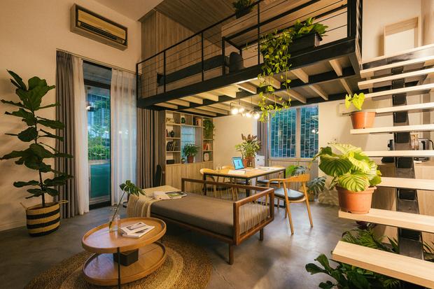 Chàng kiến trúc sư cải tạo căn hộ Pháp cổ, không gian tối giản nhưng sáng thoáng ngỡ ngàng - Ảnh 3.
