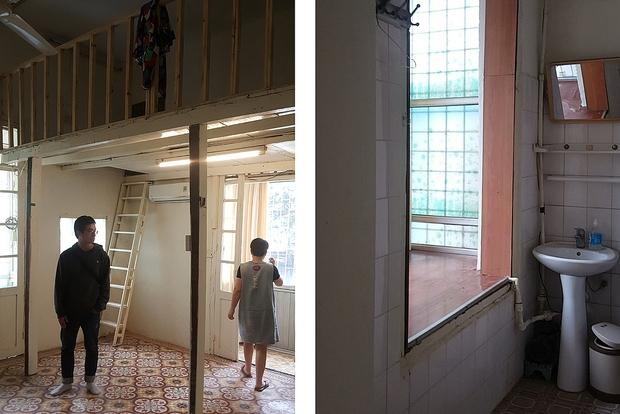 Chàng kiến trúc sư cải tạo căn hộ Pháp cổ, không gian tối giản nhưng sáng thoáng ngỡ ngàng - Ảnh 1.