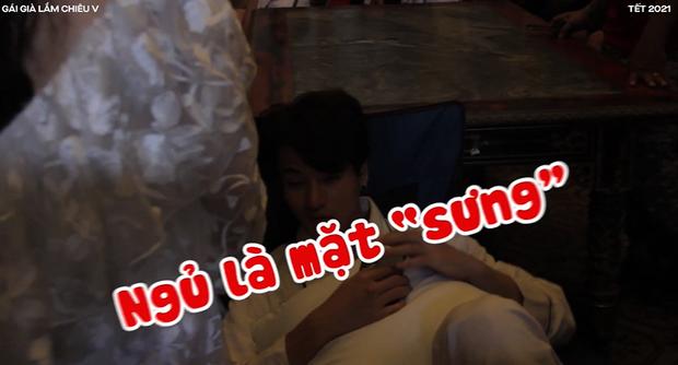 Kaity Nguyễn bạo hành trai đẹp Khương Lê ở hậu trường Gái Già Lắm Chiêu V, còn khui cả vụ đóng cảnh nóng 10 lần mới xong! - Ảnh 3.