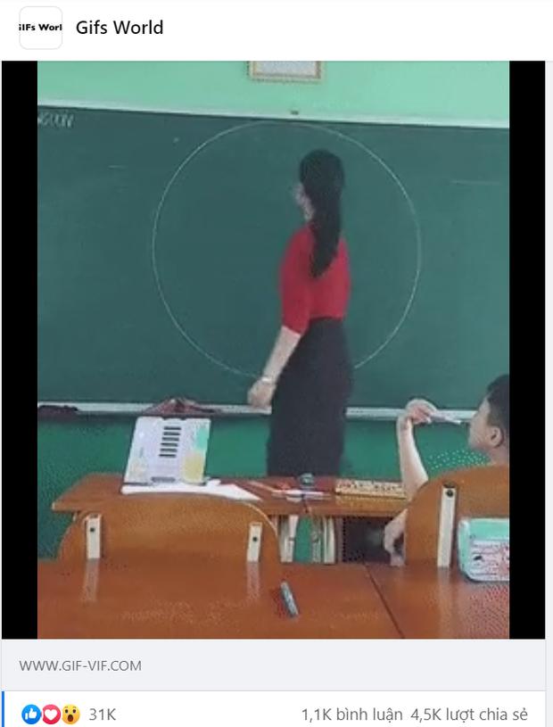 Netizen quốc tế phát sốt cảnh giáo viên Việt Nam vẽ đường tròn bằng tay không, lượt like, share tăng chóng mặt - Ảnh 2.