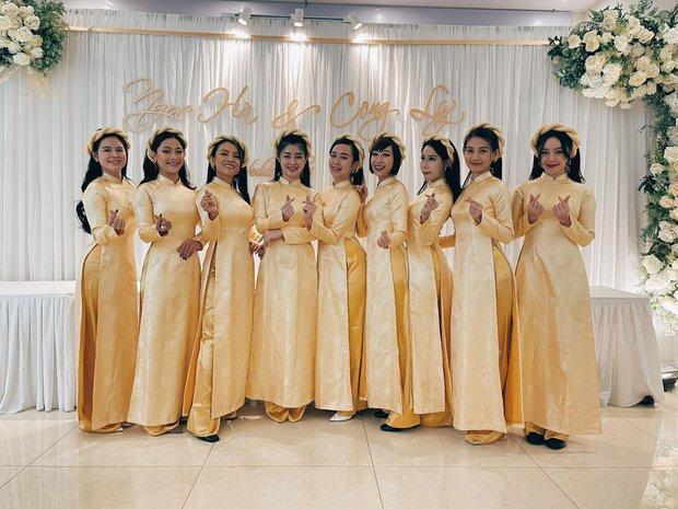 Lễ ăn hỏi NS Công Lý: Tân lang tân nương tươi như hoa, Quỳnh Kool - Kim Oanh làm phù dâu - Ảnh 11.
