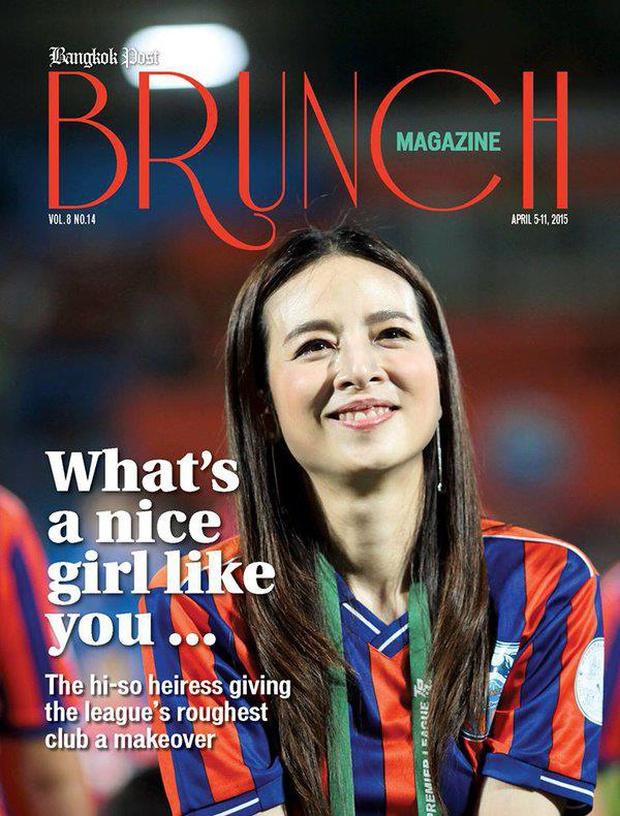 Nữ tỷ phú sáng giá bậc nhất Thái Lan: Nổi tiếng thế giới bằng loạt ảnh bật khóc trên sân bóng và bông hồng thép khiến nhiều người ngưỡng mộ - Ảnh 7.
