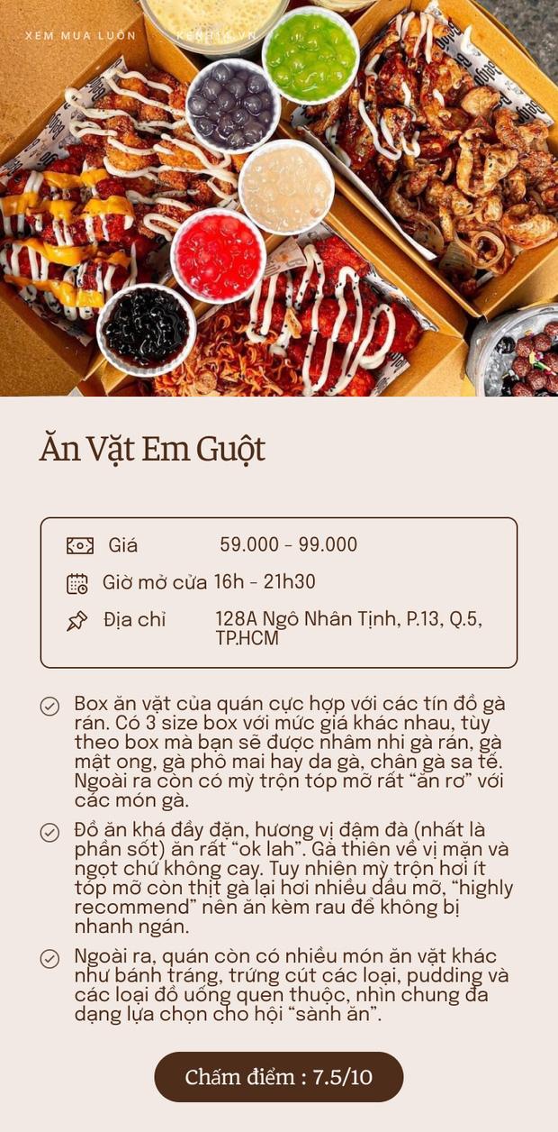 """""""Mọt ăn"""" chấm điểm 5 quán ship box ăn vặt hot nhất Sài Gòn: Rốt cuộc đâu mới là """"chân ái""""? - Ảnh 1."""