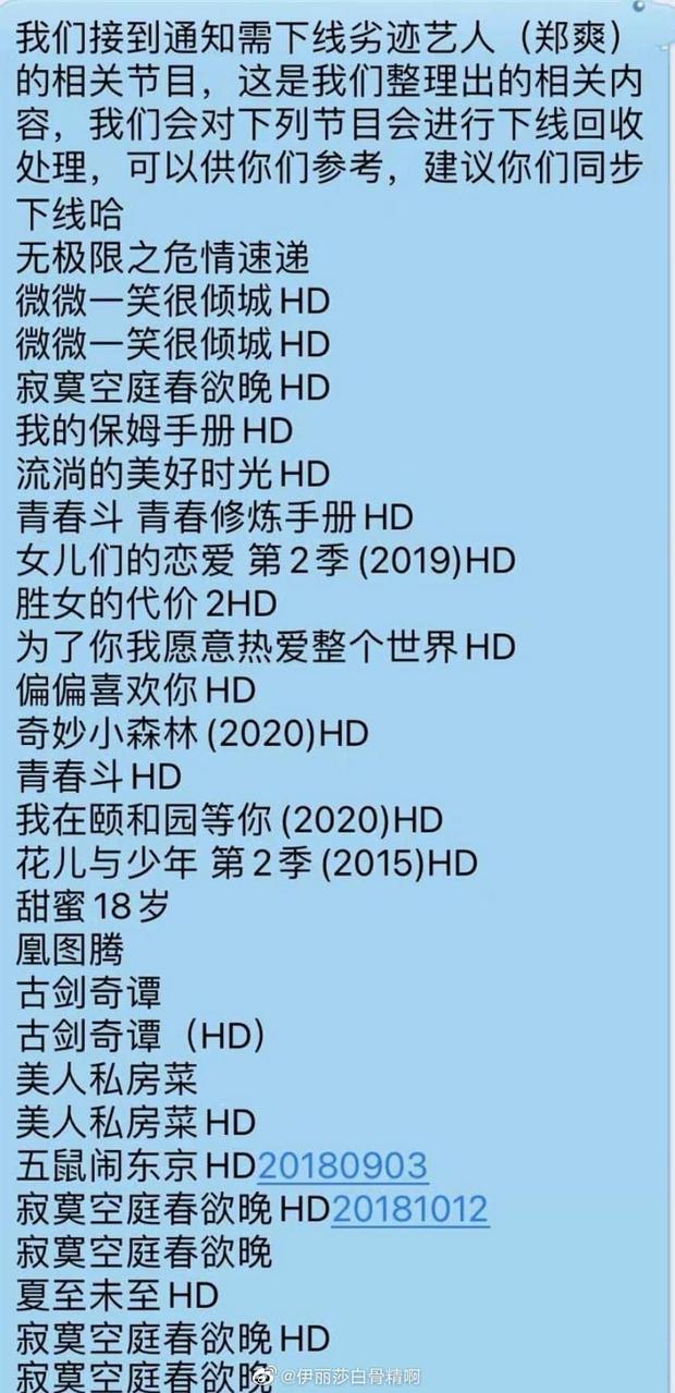 Trịnh Sảng bị phong sát toàn tập: Còn 2 phim chưa kịp quay, loạt siêu phẩm với Dương Dương, Lý Dịch Phong buộc gỡ gấp? - Ảnh 6.