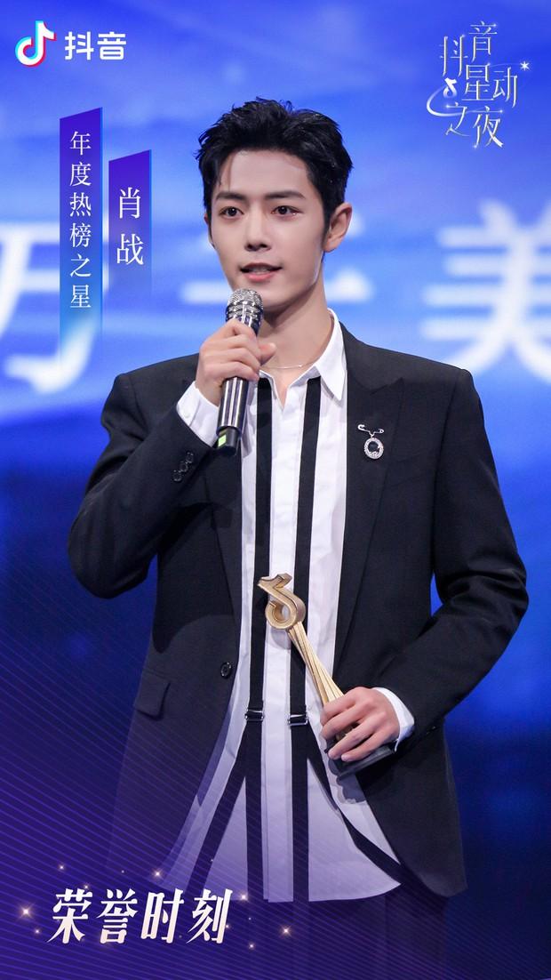 Kết quả đêm hội Douyin 2020: Triệu Lệ Dĩnh hốt đậm cạnh Vương Nhất Bác, Chương Tử Di gây xôn xao với giải Tân binh - Ảnh 6.