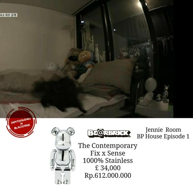 Nhà của quý tộc Jennie: Riêng nội thất đã hơn 2 tỷ, nằm bừa một góc cũng trên cả đống tiền - Ảnh 9.