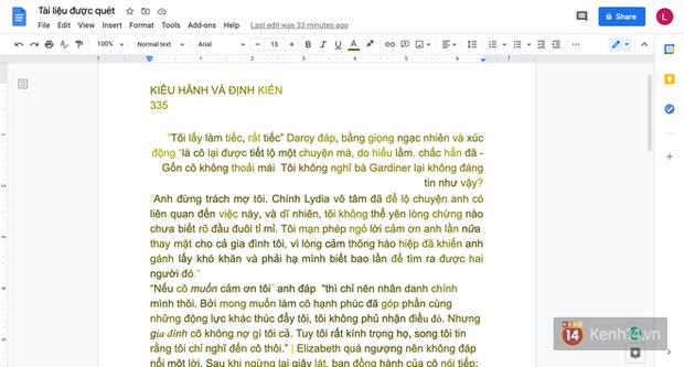 Cách để chuyển tài liệu từ giấy sang bản Word trong 1 nốt nhạc với sự trợ giúp của chiếc iPhone - Ảnh 8.