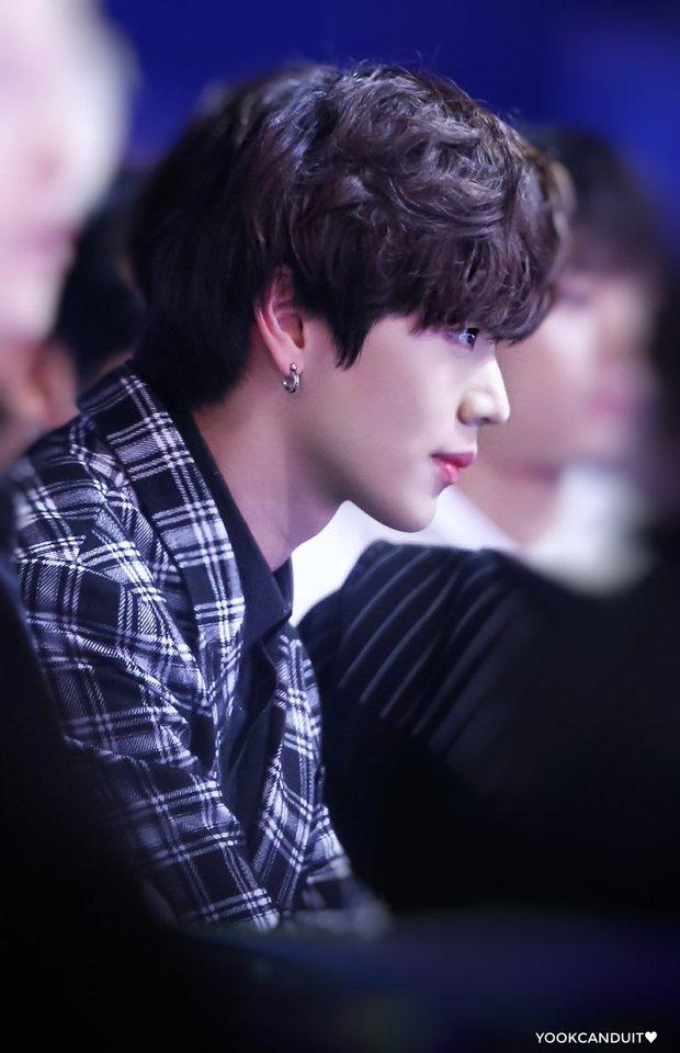 Knet chọn ra những nam idol có sống mũi chơi cầu trượt hoàn hảo nhất: V (BTS) đẹp sắc nét như đồ họa vẫn thua 1 nam thần SM - Ảnh 12.