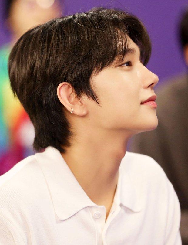 Knet chọn ra những nam idol có sống mũi chơi cầu trượt hoàn hảo nhất: V (BTS) đẹp sắc nét như đồ họa vẫn thua 1 nam thần SM - Ảnh 9.
