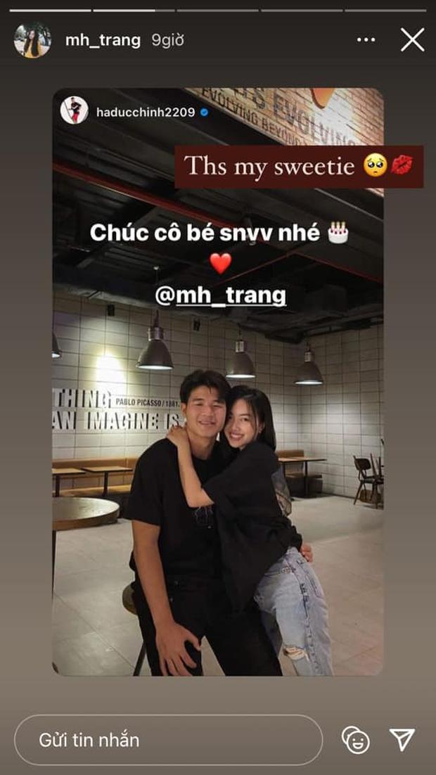 Hà Đức Chinh phát cẩu lương bằng lời chúc mừng sinh nhật bạn gái cực ngọt - Ảnh 2.