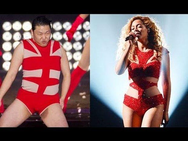 Loạt outfit gây tranh cãi bậc nhất Kpop: SNSD bị nghi đạo nhái, PSY diện jumpsuit sexy nhưng chưa sốc bằng boygroup mặc mỗi nội y lên stage - Ảnh 14.