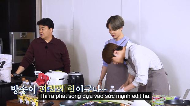 Siêu đầu bếp vỡ mộng khi nấu ăn cùng BTS: hóa ra họ không có kỹ năng, nấu ngon đều nhờ... biên tập? - Ảnh 14.