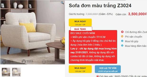 7 mẫu sofa đẹp xịn đang sale, sắm về sang nhà sang cửa tức thì - Ảnh 1.