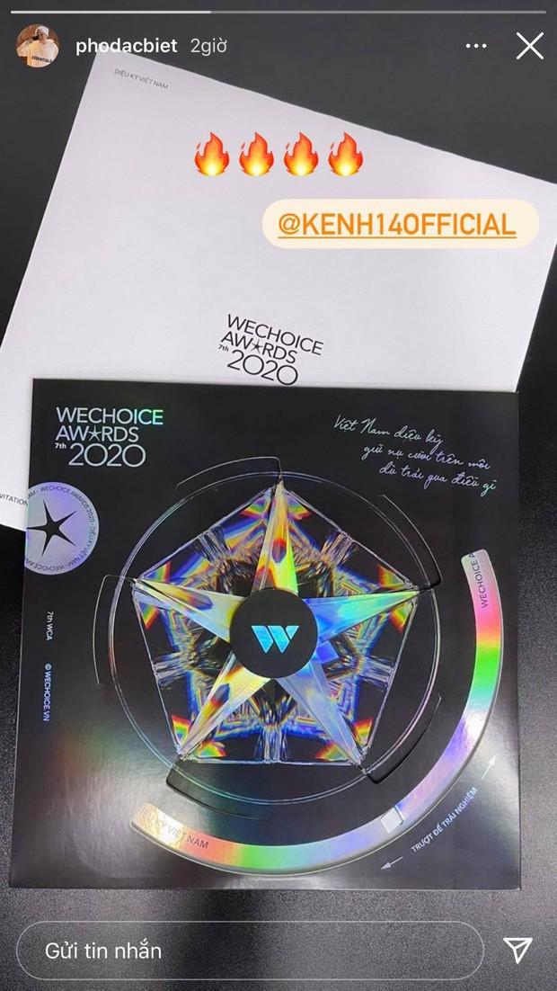 Tấm thiệp mời WeChoice Awards 2020 trên tay, dàn khách mời đang nôn đi trẩy hội lắm rồi! - Ảnh 1.