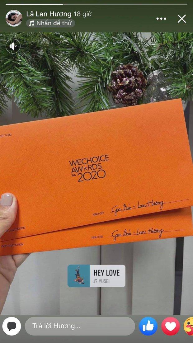 Tấm thiệp mời WeChoice Awards 2020 trên tay, dàn khách mời đang nôn đi trẩy hội lắm rồi! - Ảnh 11.