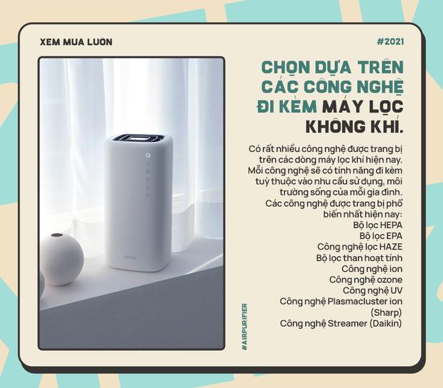 Góc chị em low-tech: Kinh nghiệm chọn máy lọc không khí cho gia đình, sạch - sang - xịn sò - Ảnh 3.