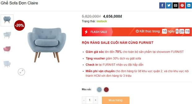 7 mẫu sofa đẹp xịn đang sale, sắm về sang nhà sang cửa tức thì - Ảnh 5.